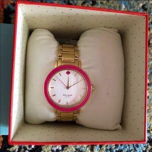 🌼Watch Sale🌼 Katespade Pink Golden Watch